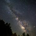 Milky way at mid summer