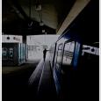 Train Station on Saturday Morning