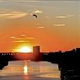Sunrise over the bridge