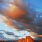 숙제 - 구름이 있는 석양하늘